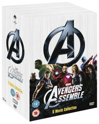 Marvel Avengers Assemble Collection DVD (2012) Robert Downey Jr, Favreau (DIR)