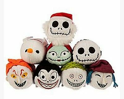 Disney TSUM TSUM Nightmare Before Christmas Mini Jack Zero Plush Toys With Chain