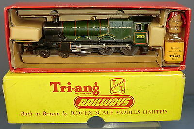"TRI-ANG RAILWAYS ""TT""MODEL No.T91 BR 4-6-0 No.4082 ""WINDSOR  CASTLE"" LOCO VN MIB"