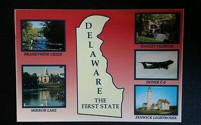Delaware,  the First State - postcard