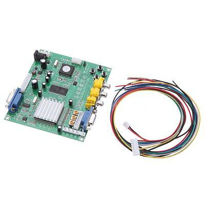 Genuine Gonbes GBS8200 CGA/EGA/YUV/RGB To VGA Arcade Game Video Converter PU5P