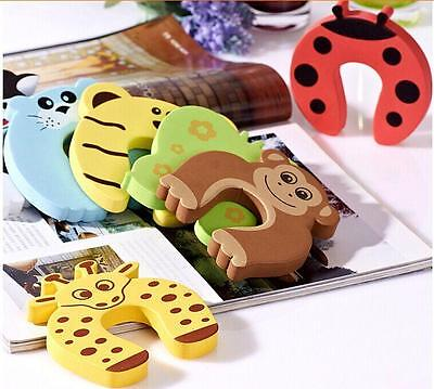10pcs Hotsell Safety Door Stopper Finger Corner Guard Protector Cushion Baby LG