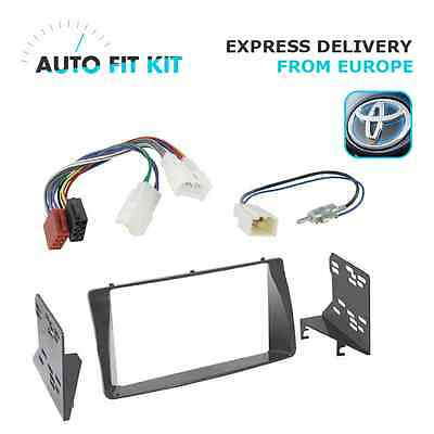 Toyota Corolla Verso 2 Double DIN Fascia Radio Stereo Replacement Kit Ant-DIN