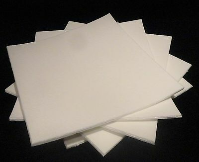 """KAOWOOL THERMAL INSULATION  PAPER 700 GRADE 12"""" x 12"""" x 1/4"""" THICK No.: 220"""