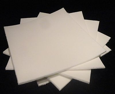 """KAOWOOL THERMAL INSULATION  PAPER 700 GRADE 12"""" x 12"""" x 1/4"""" THICK No.: 353"""