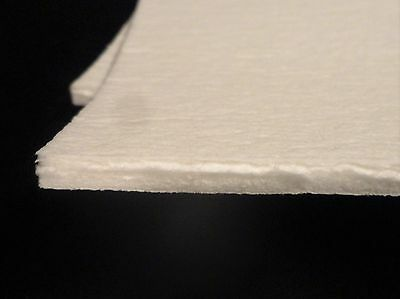 "KAOWOOL THERMAL INSULATION  PAPER 700 GRADE 24"" x 12"" x 1/4"" THICK No.: 354"