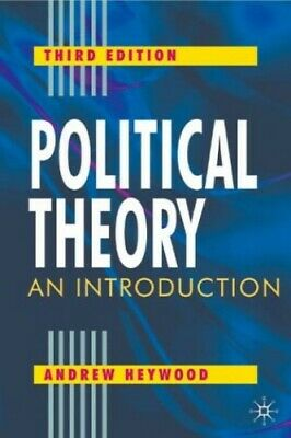Political Theory: An Introduction by Heywood, Andrew Paperback Book The Cheap