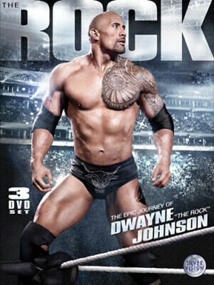 WWE: The Epic Journey of Dwayne 'The Rock' Johnson DVD (2012) The Rock