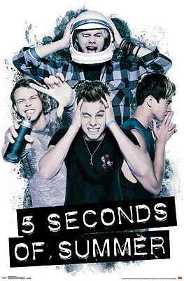 5SOS 5 Seconds of Summer Headache 22 x 34 inches Music Poster