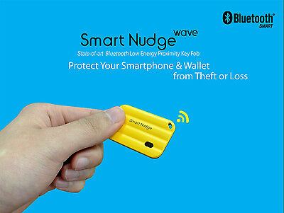 Anti-loss Bluetooth Smart Proximity Key Fob; Protect iPhone, Galaxy & Valuables
