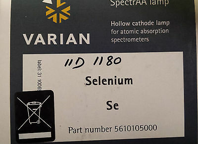 Varian 5610105000 Selenium Hollow Cathode Lamp