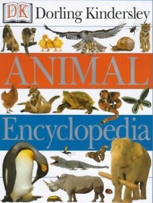DK Animal Encyclopedia Hardback Book The Cheap Fast Free Post
