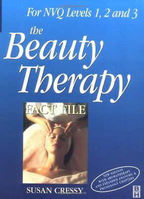 Beauty Therapy Fact File by CRESSY, SUSAN Paperback Book The Cheap Fast Free