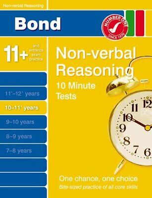 Bond 10 Minute Tests 10 - 11 years Non-verbal R... by Primrose, Alison Paperback