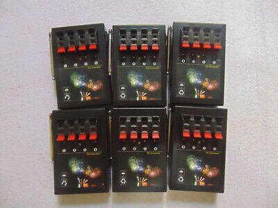 24 Cues wireless control fireworks firing system-6pcs 4Cues receivers-party gift