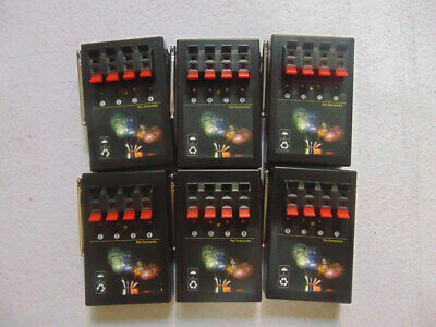 24Cues wireless control fireworks firing system-6pcs 4Cues receivers-party gift