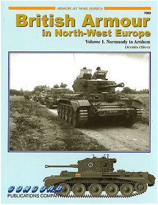 Concord 7069 british armour in north-west europe volume 1 D-Day Modellbau NEU