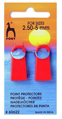 Pony  Knitting Needle Point Protectors 2 pack P60622