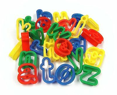 26 Lower Case Alphabet Dough Cutters
