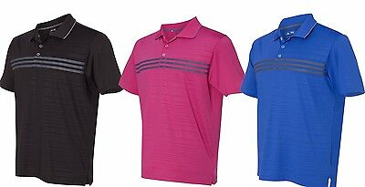ADIDAS GOLF - Puremotion Polo, Mens S-3XL, Three Stripes Climalite Sport Shirt