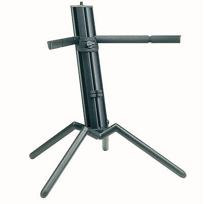 """K&M 18840 Keyboard Stand """"Baby-Spider Pro"""" - Black Anodized"""