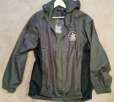NYLON JACKET WITH HOOD Brand New wTags Cumbres & Toltec TRAIN  LOCOMOTIVE Mens L