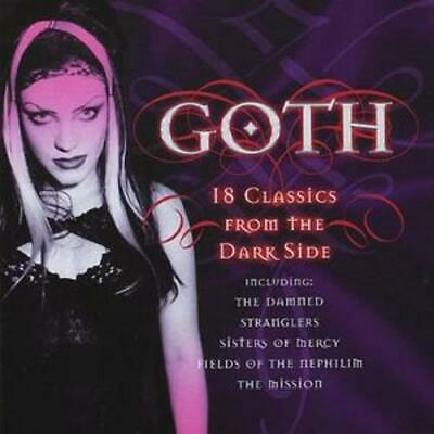 Various Artists : Goth: 18 Classics from the Dark Side CD (2005)
