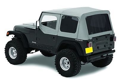 1987-1995 Jeep Wrangler Replacement Soft Top with Upper Doors & Tinted Windows