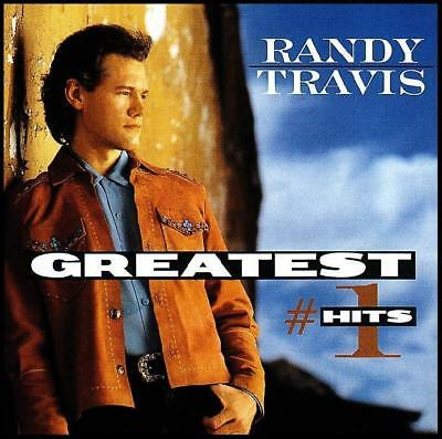 RANDY TRAVIS - GREATEST #1 HITS CD Album ~ 80's / 90's BEST OF ~ COUNTRY *NEW*