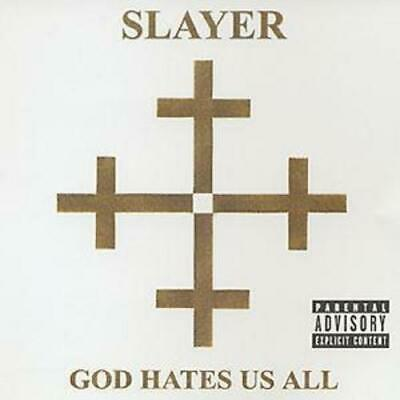 Slayer : God Hates Us All CD (2001) Value Guaranteed from eBay's biggest seller!