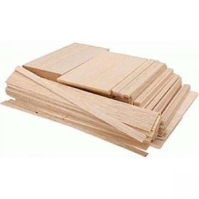 Balsa Wood Econo Bag1/2Bdft