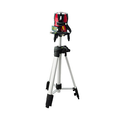 8 line Rotary Laser Beam Self Leveling Interior Exterior Laser Level Tripod DHL