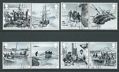 Great Britain 2016 Shackleton And The Endurance Expedition Fine Used