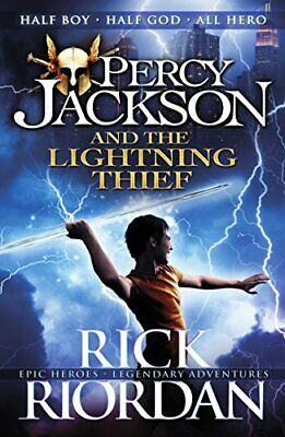 Percy Jackson and the Lightning Thief (Book 1) by Riordan, Rick Book The Cheap