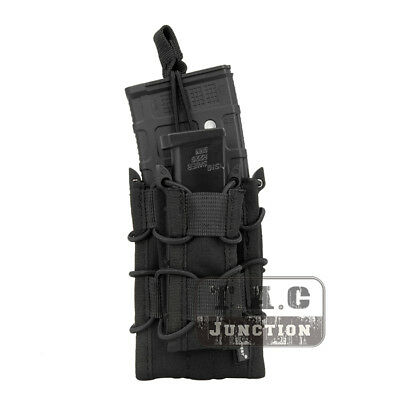 Emerson Tactical Double-Decker Modular Open Top MOLLE Magazine Mag Pouch Holster