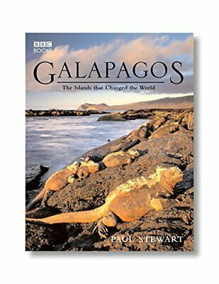Galapagos: The Islands That Changed the World by Richard Dawkins Paperback Book