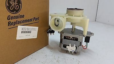 Wd26X10051 Ge Dishwasher Motor Pump Assembly *new Part*
