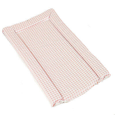 Kit For Kids Gingham Check Standard Changing Mat, Pink