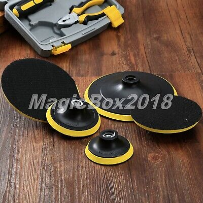 80mm-180mm Universal Polishing Buffing Plate Backing Pad For Grinder Backer Tool