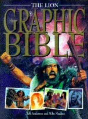 The Lion Graphic Bible by Anderson, Jeff Hardback Book The Cheap Fast Free Post