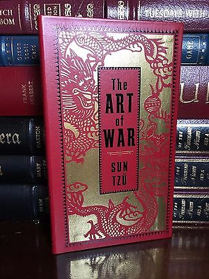 The Art of War by Sun Tzu Brand New Deluxe Leather Collectible Pocket Edition