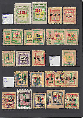 Hungary Szeged good collection / lot of stamps