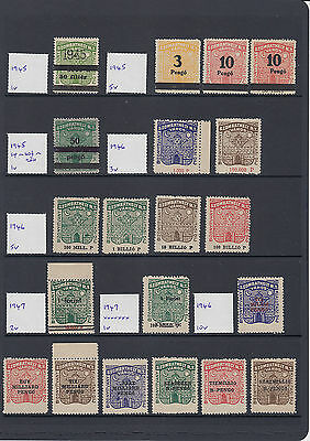 Hungary Szombathely good collection / lot of stamps