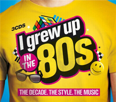 Various Artists : I Grew Up in the 80s CD Box Set 3 discs (2011) Amazing Value