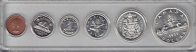 1959 Canada Coin Set in Hard Capital Plastic Holder