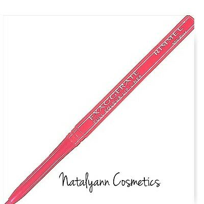 Rimmel Exaggerate Full Colour Lip Liner Twist Up - 005 PURE - FREE P&P