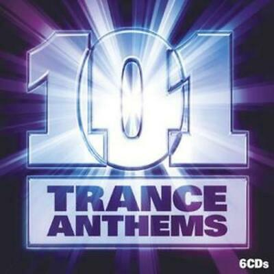 Various Artists : 101 Trance Anthems CD 6 discs (2008) FREE Shipping, Save £s