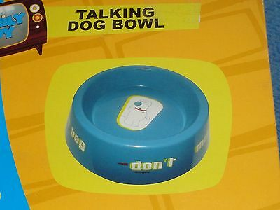 NIB Family Guy Talking Dog Food Bowl Brian Talks To your Dog
