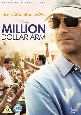 Million Dollar Arm DVD (2014) Jon Hamm
