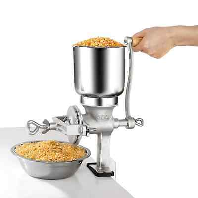 Manual Corn Grinder Flour Maker Wheat Grain Nut Mill Cast Iron Home Kitchen Tool